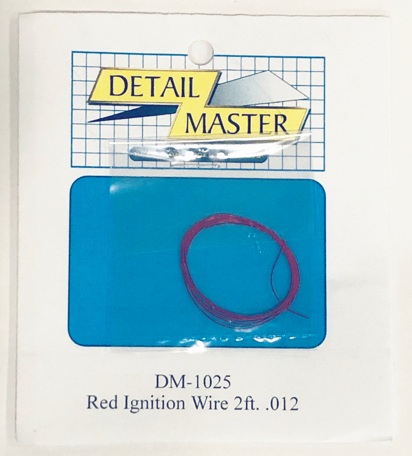 Detail Master 1/24 - 1/25 Ignition Wire Red 2ft DM-1025
