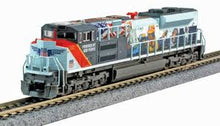 "Load image into Gallery viewer, KATO N SD70ACe Union Pacific #1111 ""Powered By Our People"" W/ DCC 176-8412-DCC"