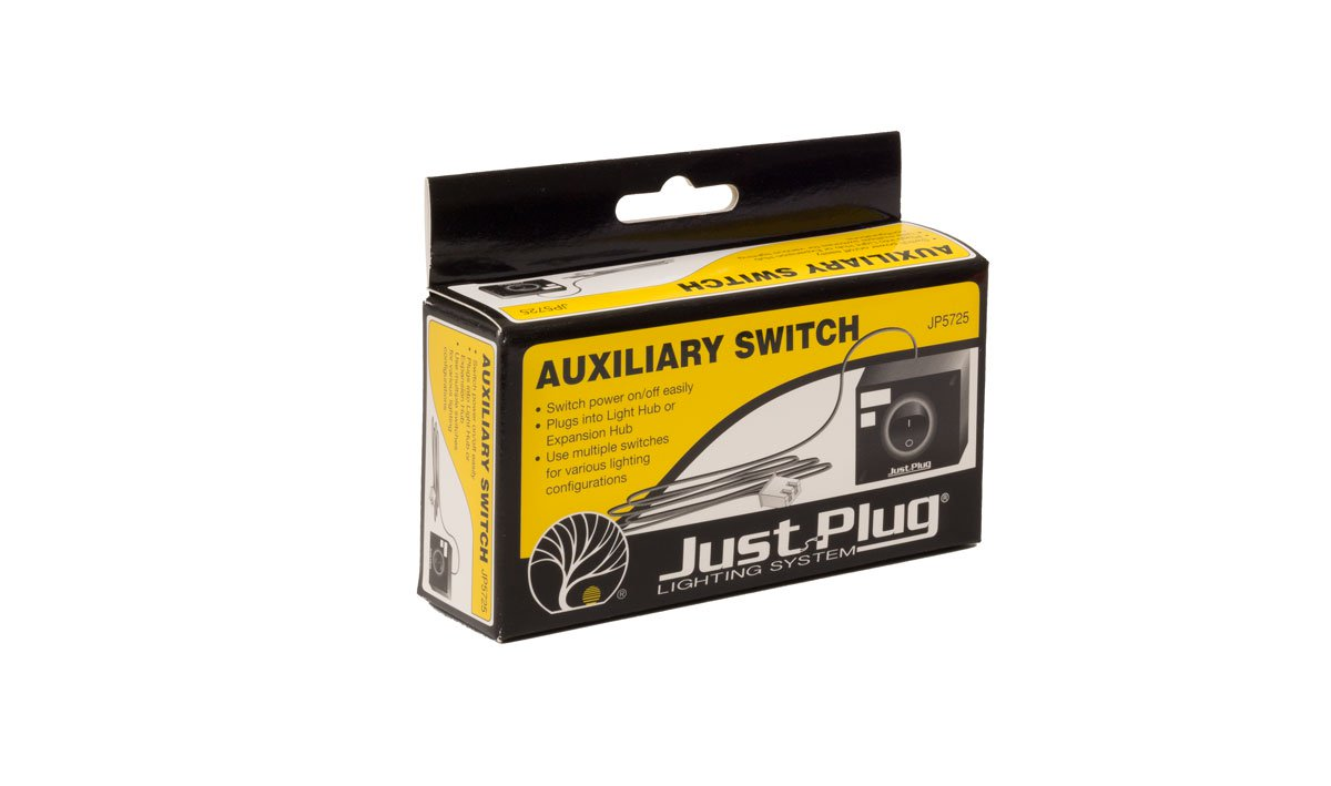 Woodland Scenics JP5725 Just Plug Auxilary Switch