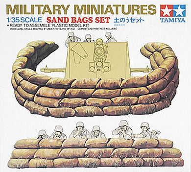 Tamiya 1/35 Sand Bag Set 35025
