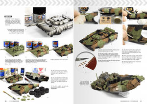 AK Interactive Book AK280 Little Warriors Modern Vehicles Vol.1
