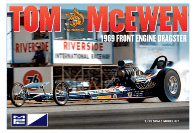 MPC 1/25 Tom McEwen 1969 Front Engine Dragster MPC900