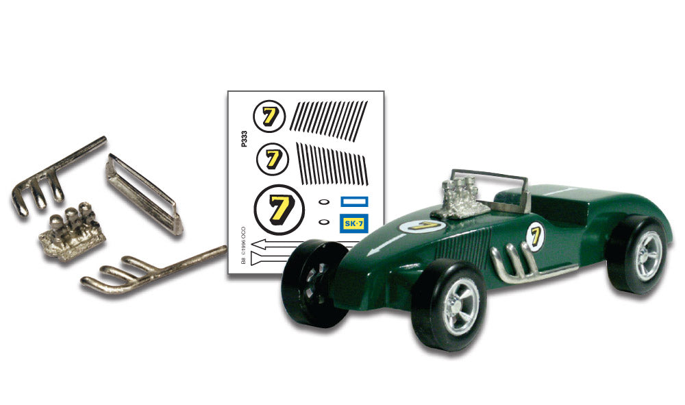 Pinecar P333 Pinewood Derby Street Rod Parts / Decals