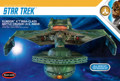 Polar Lights Star Trek 1/350 Klingon K'T'Inga Class Battlecruiser Kit POL950