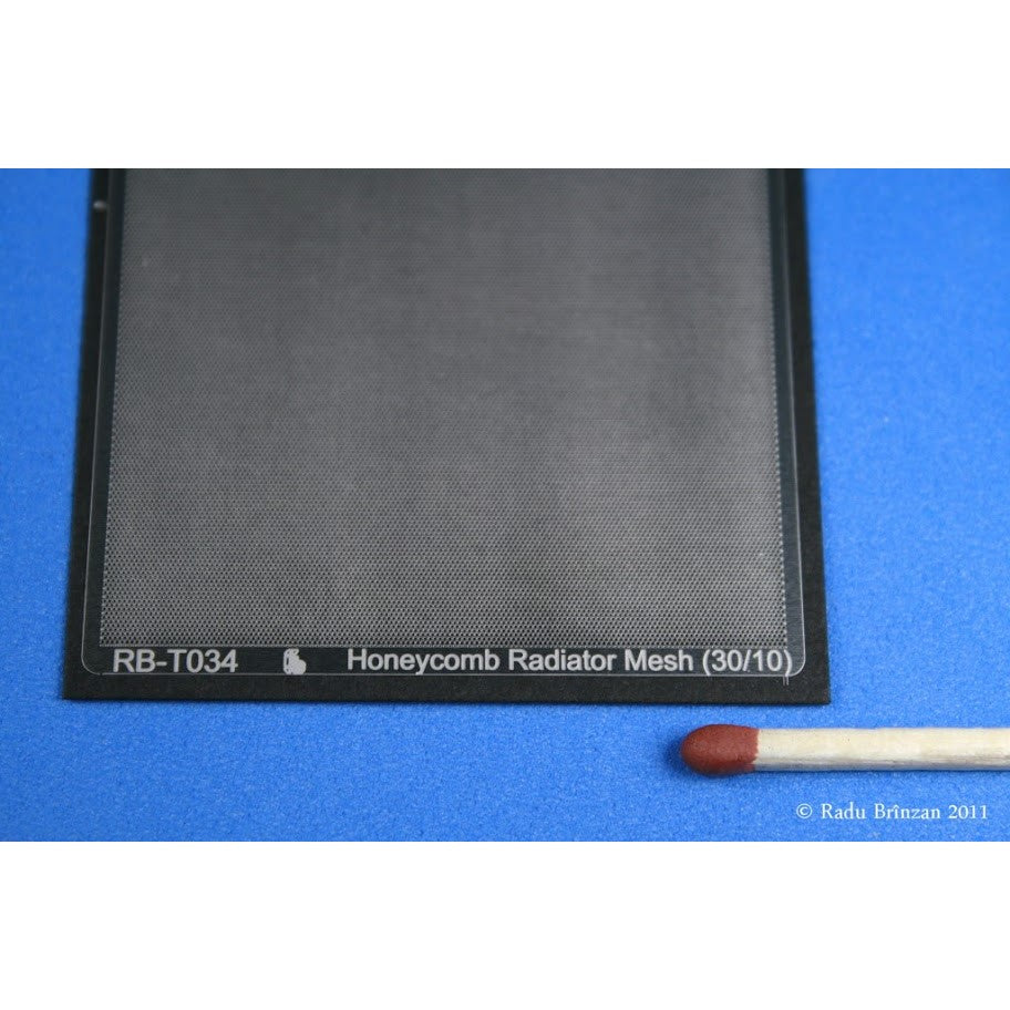 RB Productions 1/32 Honeycomb Radiator Mesh RB-T034