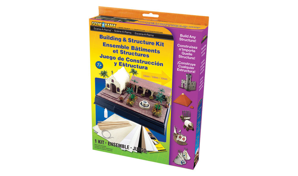 Woodland Scenics SP4130 SceneArama Building and Structure Kit