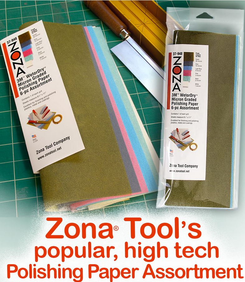 Zona 37-948 3M Polishing Paper Assortment