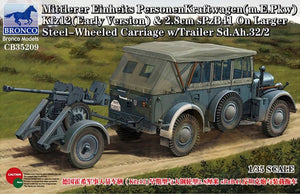 Bronco 1/35 German Kfz12 & sPzB41  (Early Version) 35209