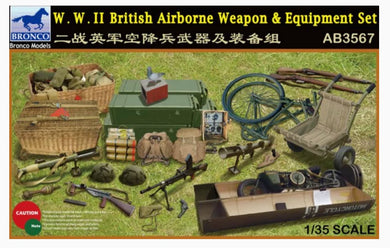 Bronco 1/35 WWII British Airborne Weapon & Equipment Set 3567