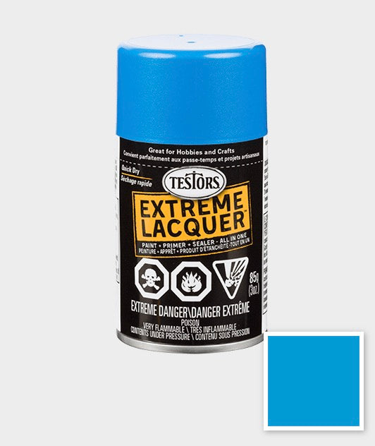 Model Master 1844MT Spray Lacquer Icy Blue 3 oz