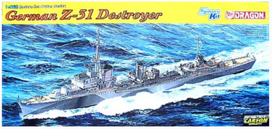 Dragon 1/350 DKM Destroyer Z-31 1054