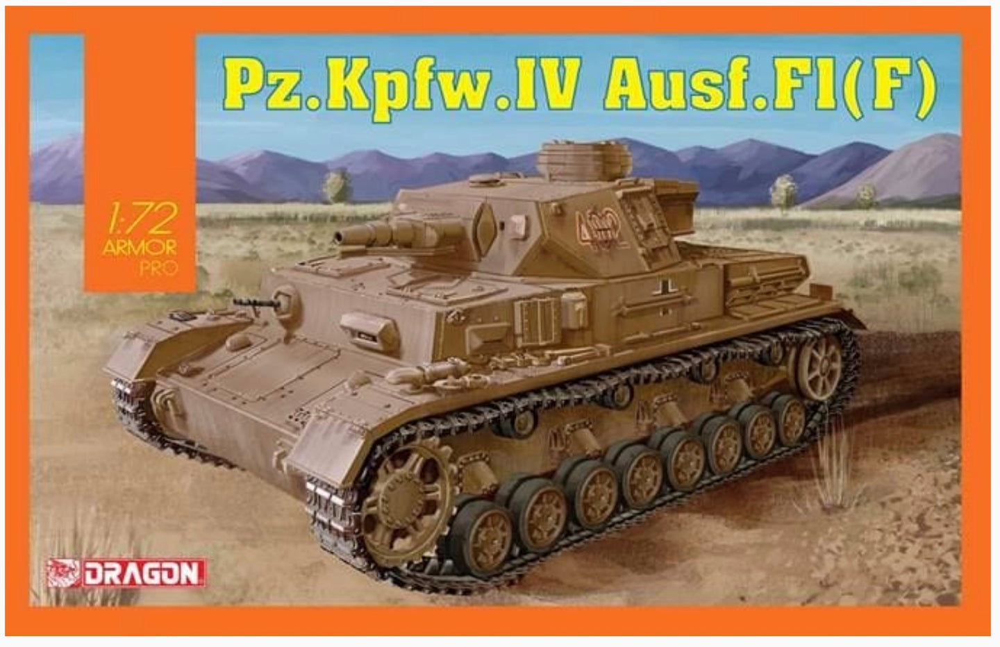Dragon 1/72 German Pz.Kpfw.IV Ausf.F1(F) 7560