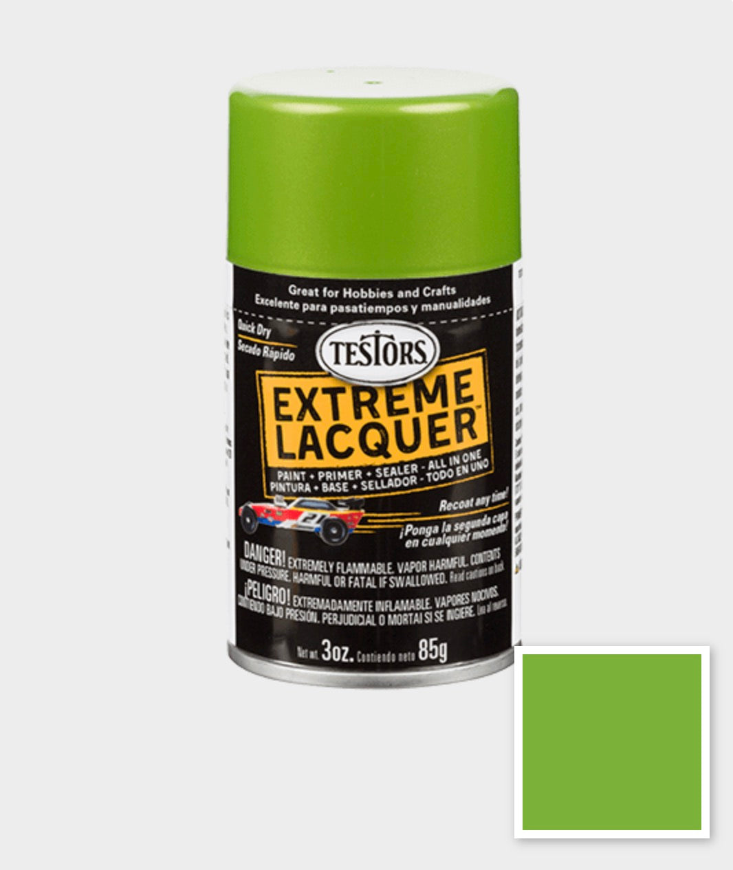 Model Master Lacquer Spray 1835MT Lime Ice 3 oz