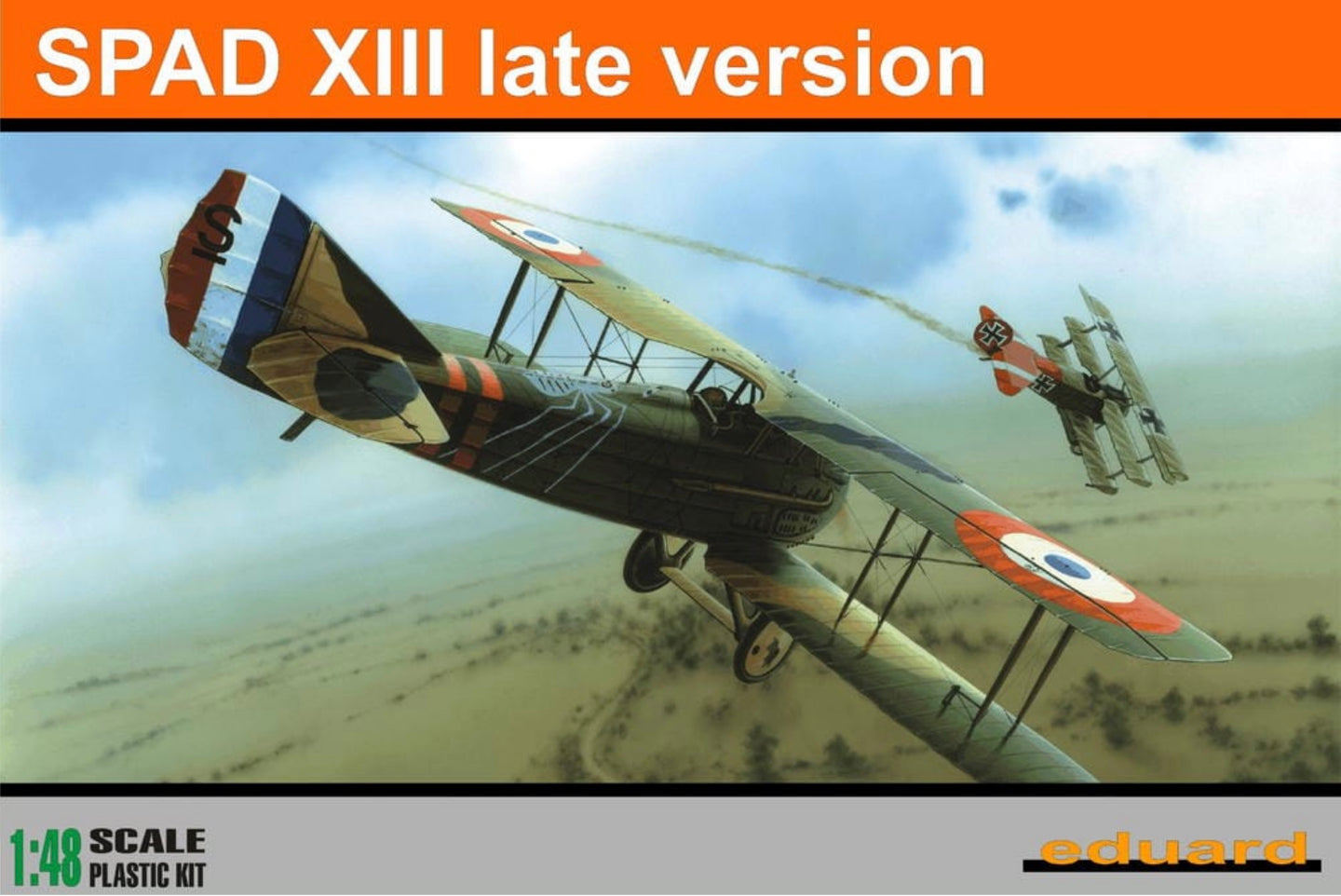 Eduard 1/48 French Spad XIII Late Version 8196