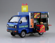 Load image into Gallery viewer, Aoshima 1/24 Daihatsu Mobile Catering No. 1 Abeshi Game Truck 00829