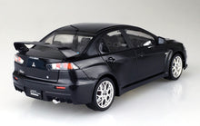 Load image into Gallery viewer, Aoshima 1/24 Mitsubishi Lancer Evolution Final Edition Black Pearl Pre-painted 05090
