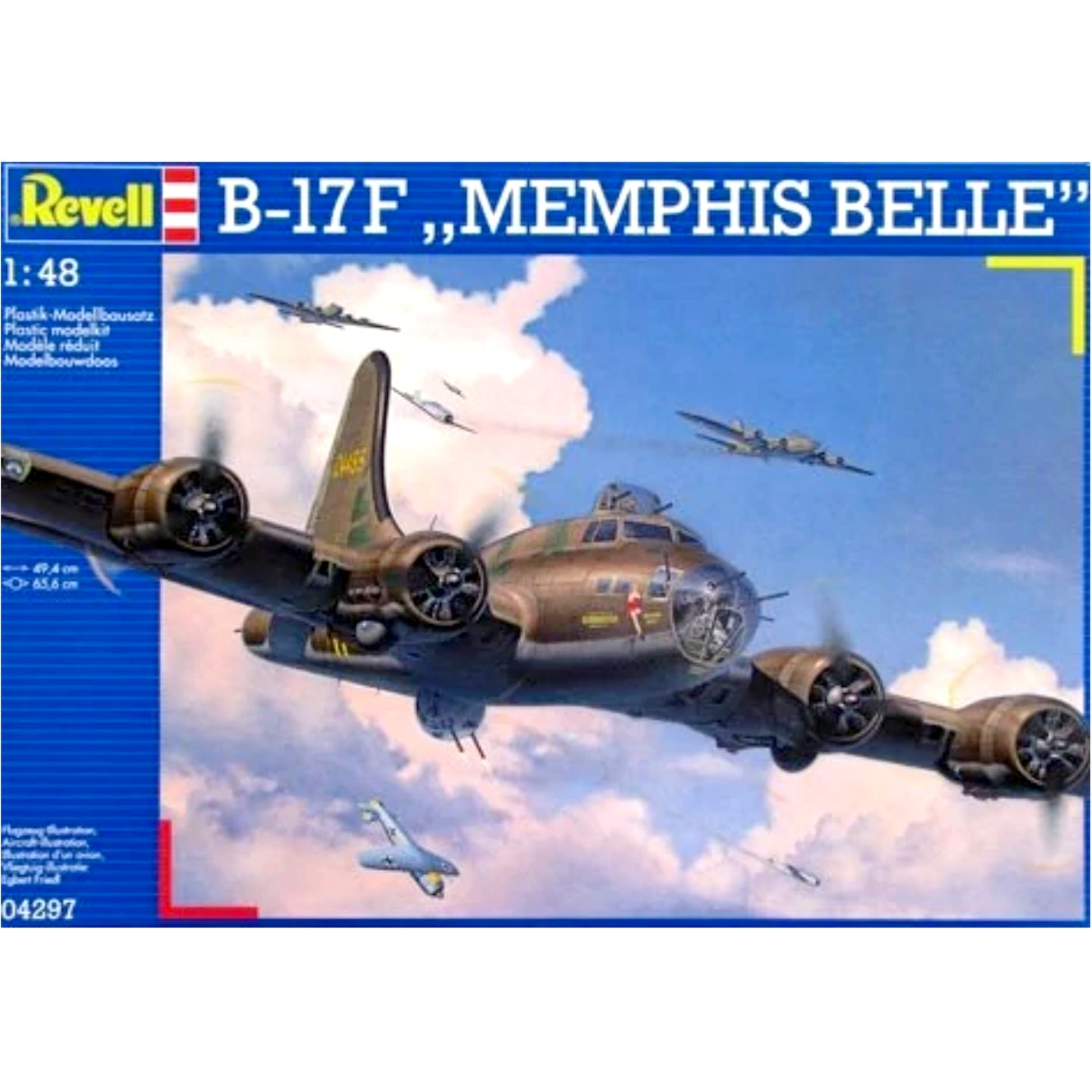 Revell 1/48 US Air Force Boeing B-17F Flying Fortress