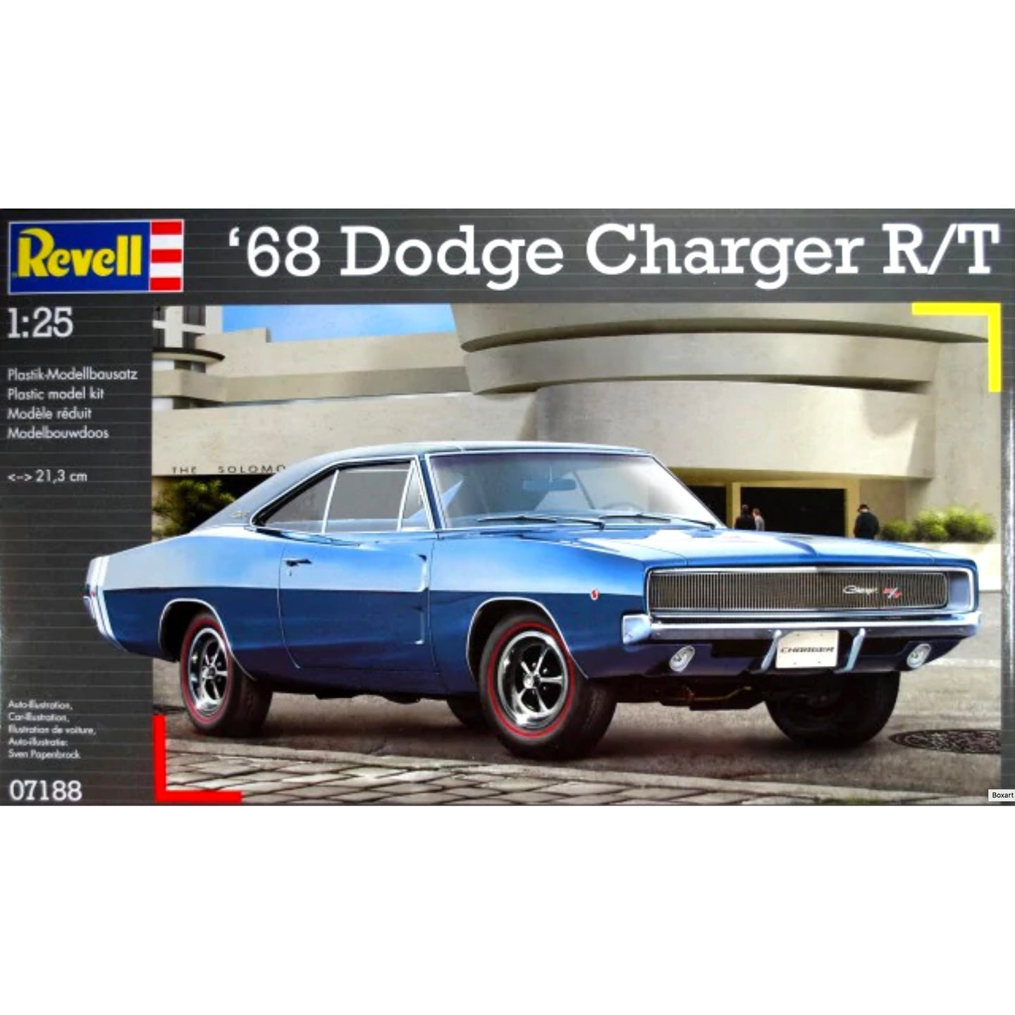 Revell 1/25 Dodge Charger R/T 1968 07188