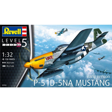Revell 1/32 US P-51D Mustang Plastic Model Kit 03944