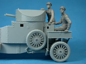 Copperstate Models 1/35 British RNAS Armored Car Crewman Observing F35-005