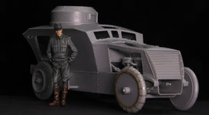 Copperstate Models 1/35 Austro-Hungarian Armored Car Officer F35-015