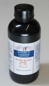 Alclad ALC305 4oz. Gloss Black Lacquer Base