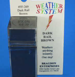 Bragdon FF-269 Dark Rail Brown Weathering System