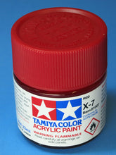 Load image into Gallery viewer, Tamiya Acrylic 23ml 81007 X-7 Gloss Red