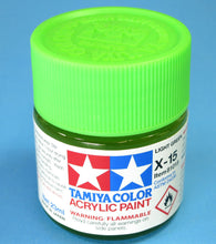 Load image into Gallery viewer, Tamiya Acrylic 23ml 81015 X-15 Gloss Light Green