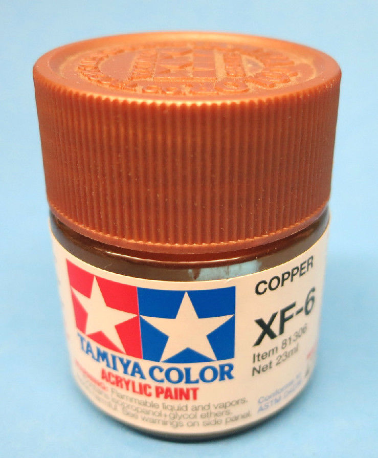 Tamiya Acrylic 23ml 81306 XF-6 Copper