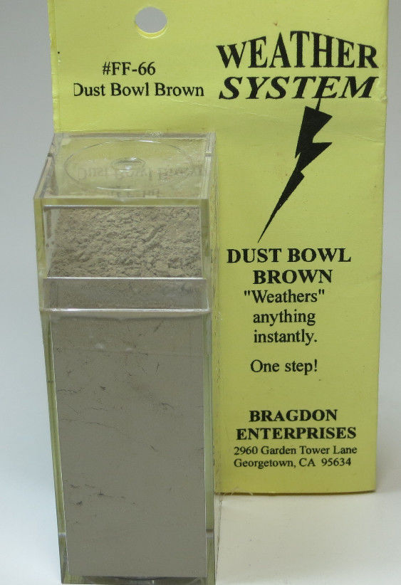 Bragdon FF- 66 Dust Bowl Brown Weathering System