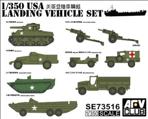 AFV Club 1/350 US Landing Vehicle Set 73516