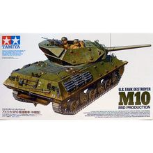 Load image into Gallery viewer, Tamiya 1/35 US Tank Destroyer M10 Mid Production 35350