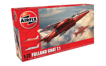 Load image into Gallery viewer, Airfix 1/72 British Folland Gnat T.1 Plastic Model Kit A02105
