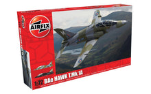 Load image into Gallery viewer, Airfix 1/72 British BAe Hawk T.Mk.1A Plastic Model Kit AO3085A