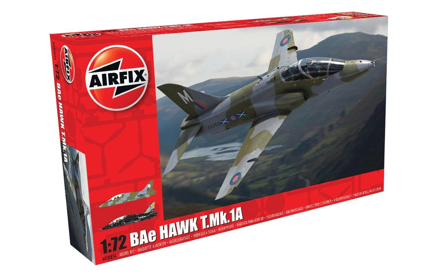 Airfix 1/72 British BAe Hawk T.Mk.1A Plastic Model Kit AO3085A