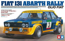 Load image into Gallery viewer, Tamiya 1/20 Fiat 131 Abarth Rally Olio Fiat 20069