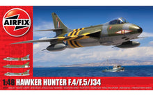 Load image into Gallery viewer, Airfix 1/48 British Hawker Hunter F.4/F.5/J34 A09189