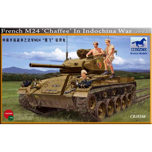 "Bronco 1/35 French M24 ""Chaffee"" In Indochina War 35166"