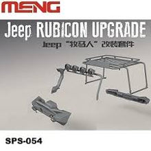 Load image into Gallery viewer, Meng 1/24 Jeep Wrangler Rubicon Exterior Accessories Kit SPS-054