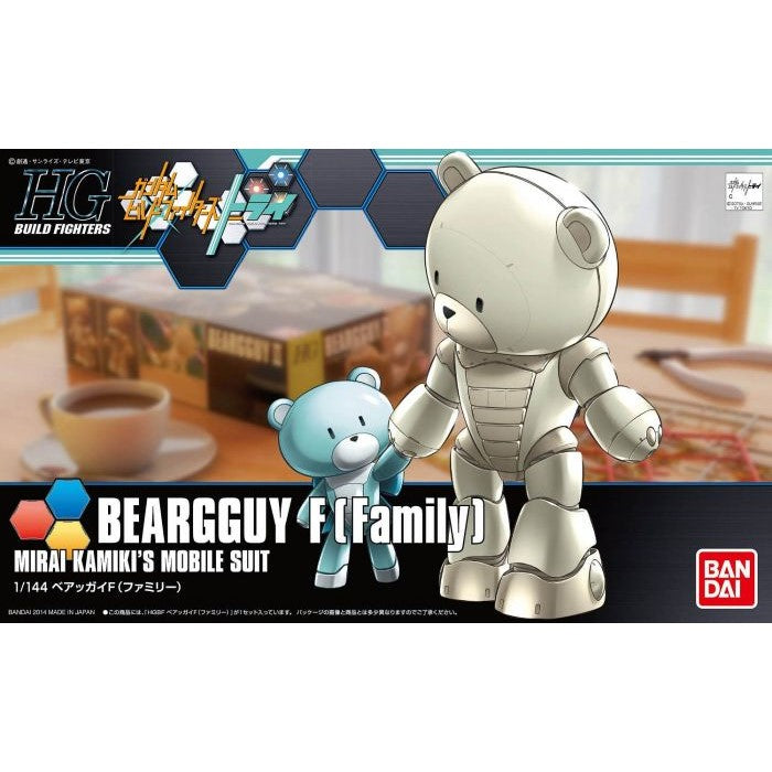 Bandai 1/144 HG Gundam Build Fighters Beargguy F [Family] 5055435