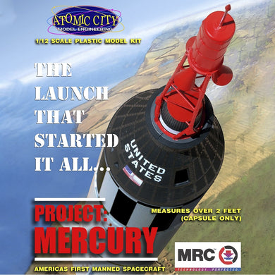 Atomic City 1/12 Mercury Capsule 0062001