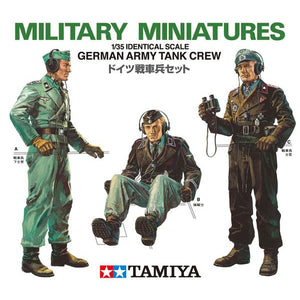 Tamiya 1/35 German Army Tank Crew 35001