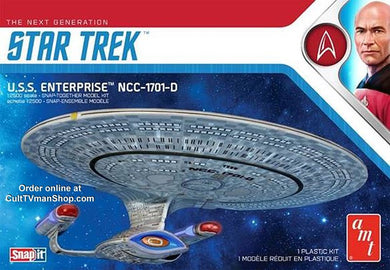 AMT Star Trek 1/2500 USS Enterprise NCC-1701-D AMT1126
