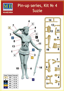 Master Box 1/24 Pin-up Series #4 24004