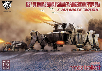 Modelcollect 1/72 German Fist of War Sonder PanzerKamfpWagen E-100 ausf.k