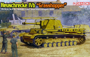 "Dragon 1/35 German Heuschrecke Ivb ""Grasshopper"", 10.5cm le.F.H. 18/6 6439"