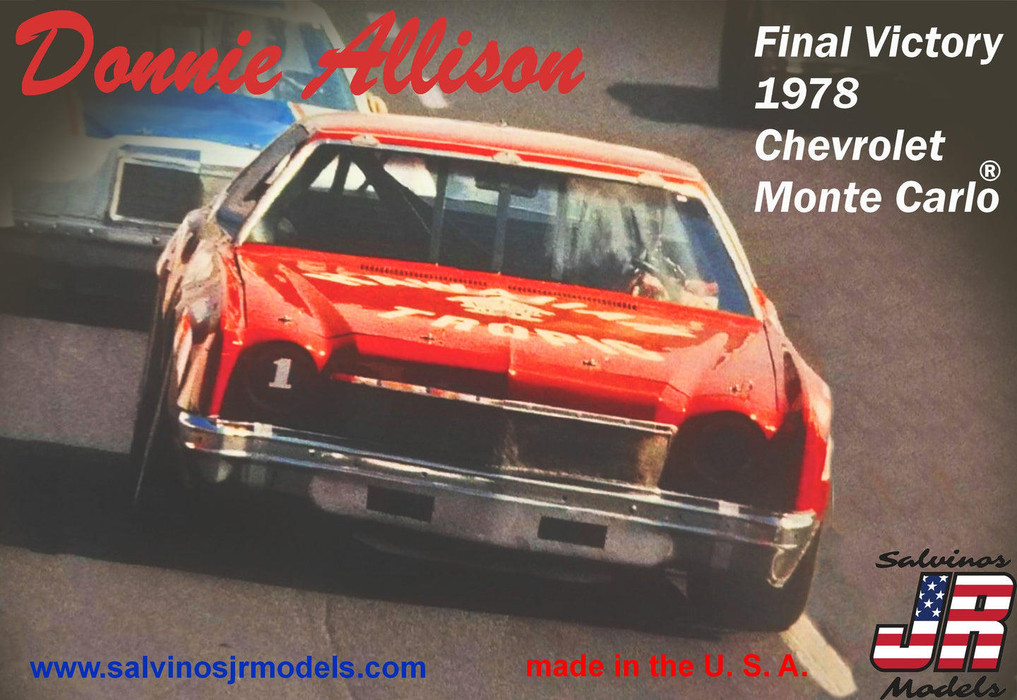 Salvinos 1/25 Donnie Allison 1978 Chevrolet Monte Carlo DAMC1978A