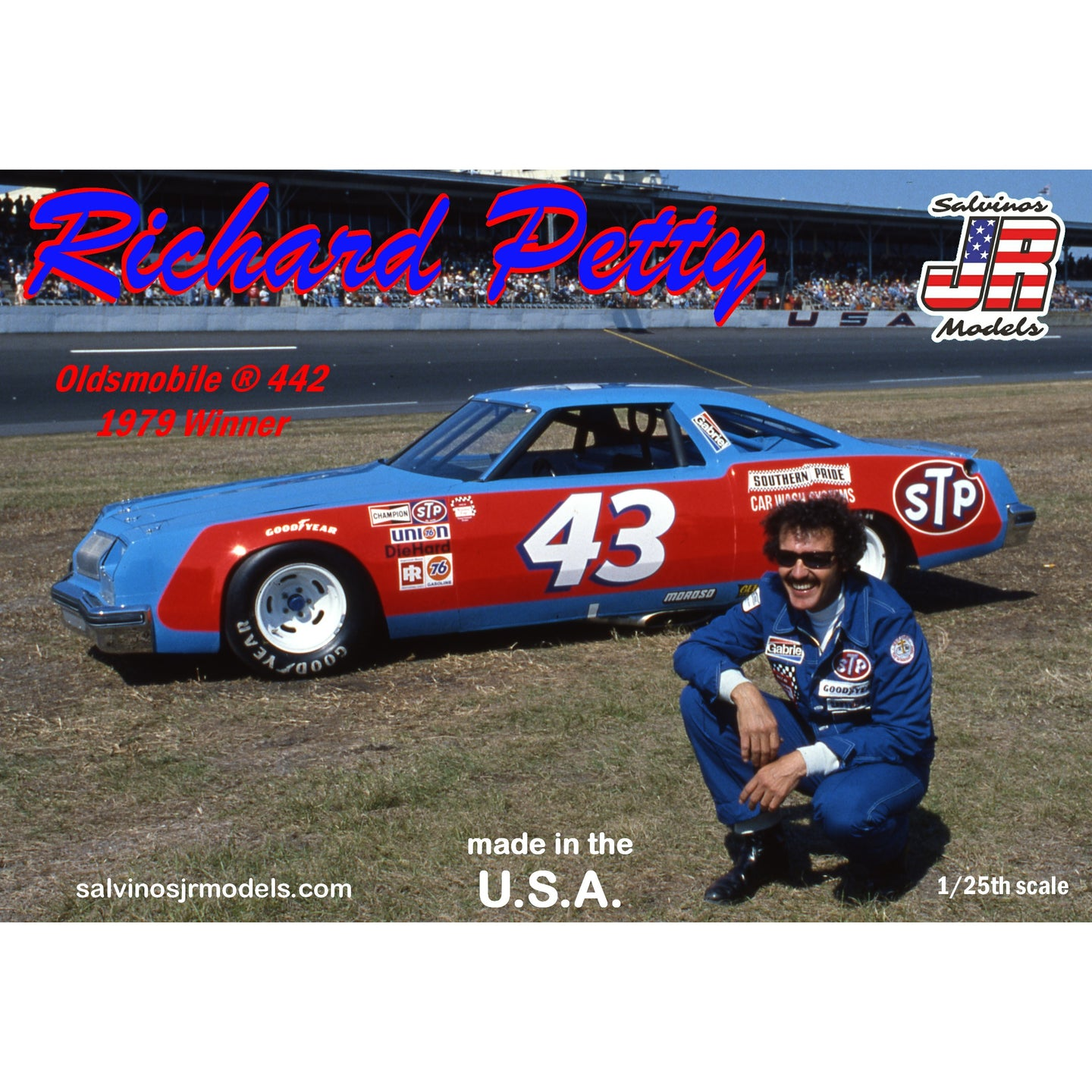 Salvinos 1/25 Richard Petty 1979 Oldsmobile 442 Winner RPO1979D