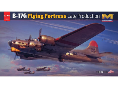 HK Models 1/32 Boeing B-17G Flying Fortress Late Production 01E030